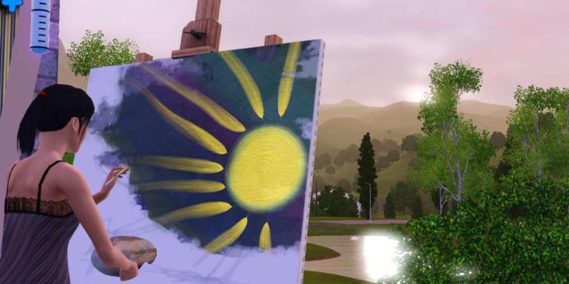 Vender quadros no The Sims 3