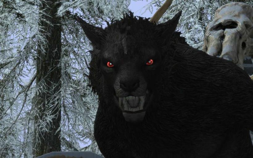 werewolf skyrim