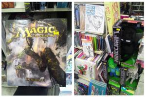 bichos-geeks-na-comix-book-shop-magic-minecraft-e-livros-de-desenho