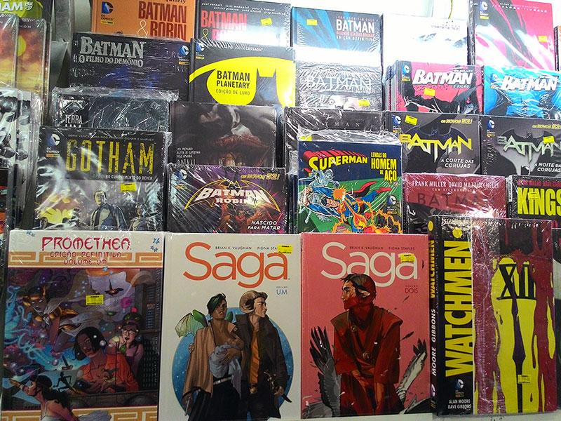 Comix Book Shop e Fest Comix – Livros e quadrinhos em São Paulo
