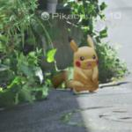 Capturando o Pikachu no Pokémon Go