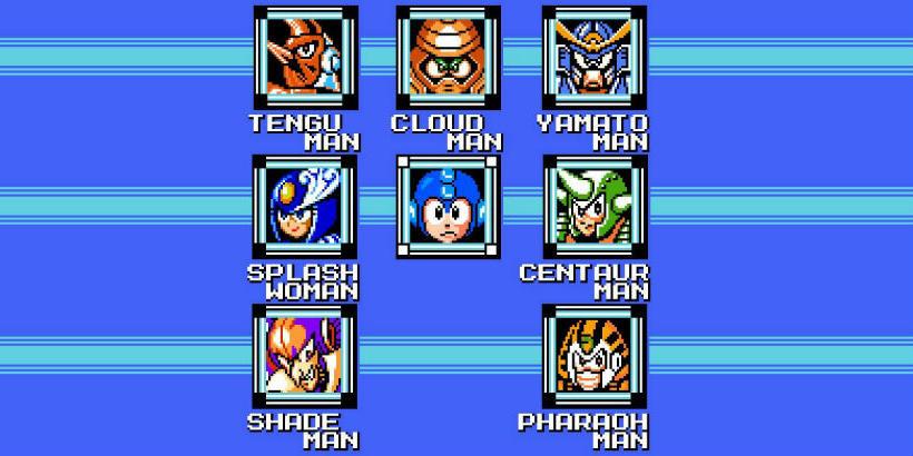 Mega Man e os Chefes