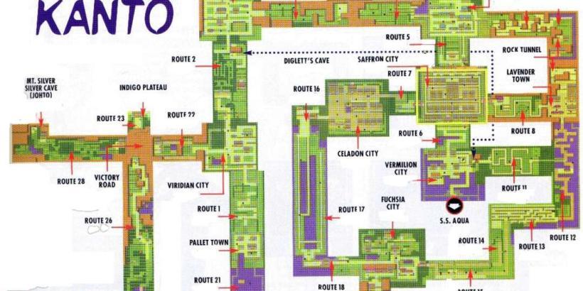 Guia de HM no Pokémon Red, Blue e Yellow   Bichos Geeks