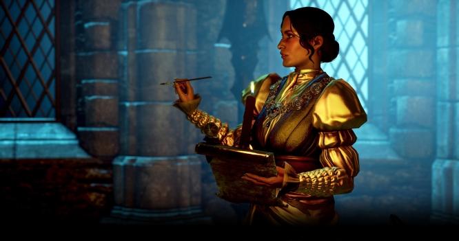 Guia de Romance em Dragon Age Inquisition para namorar a Josephine