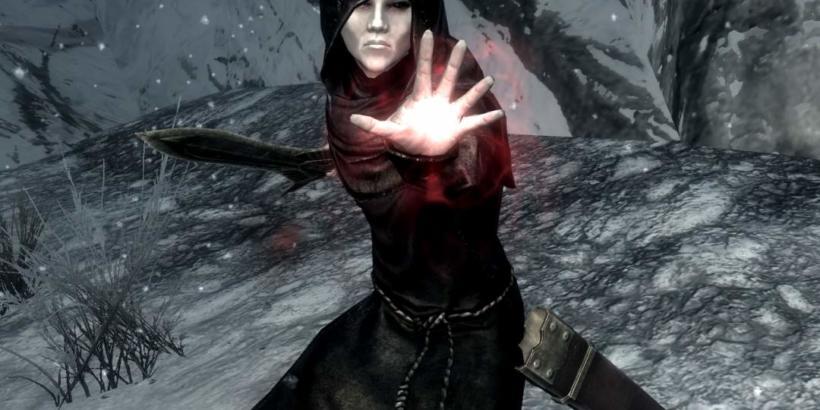 Como curar vampirismo no Skyrim