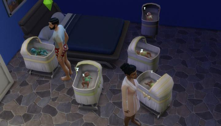 The Sims 4 Gêmeos