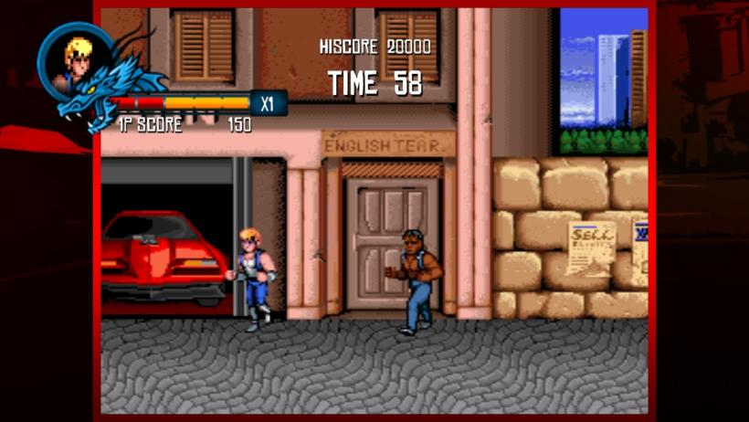 Beat em up - double dragon